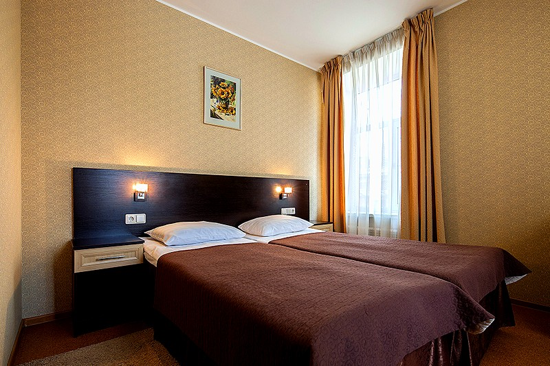 Superior Twin Room at the Nevsky Breeze Hotel in St. Petersburg