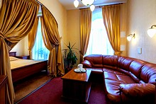 Superior Room at the Nevsky Express Hotel in St. Petersburg