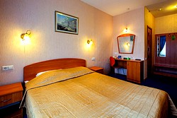 Standard Double Room at the Nevsky Express Hotel in St. Petersburg