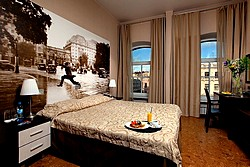 Designer Double Room at the Nevsky Forum Hotel in St. Petersburg