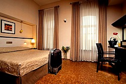 Standard Double Room at the Nevsky Forum Hotel in St. Petersburg
