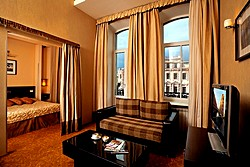 Double Suite at the Nevsky Forum Hotel in St. Petersburg