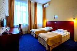 Standard Twin Room at the Nevsky Hotel Aster in St. Petersburg
