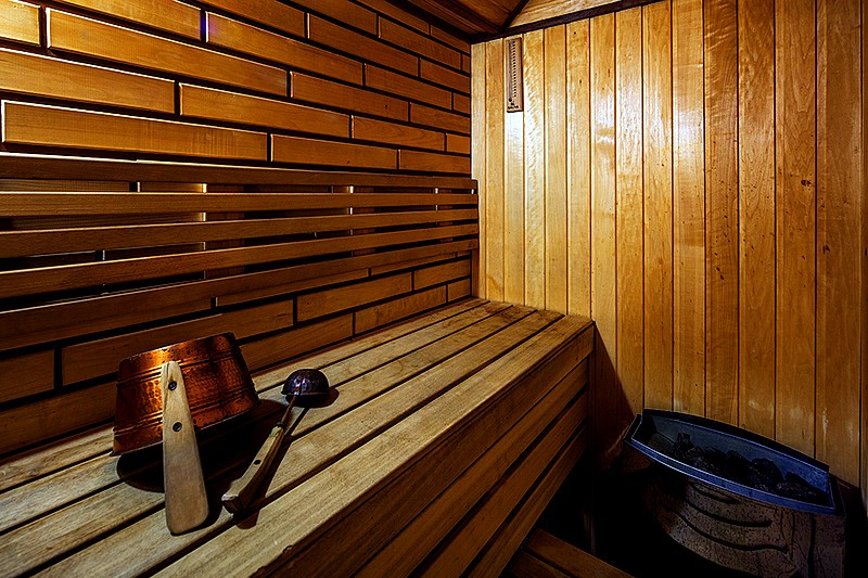 Sauna at Suite at the Nevsky Hotel Grand in St. Petersburg
