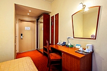 Standard Single Room at the Nevsky Hotel Moyka 5 in St. Petersburg