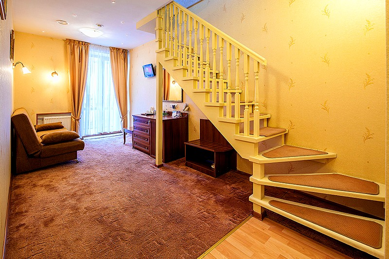 Split-Level Suite at the Nevsky Hotel Moyka 5 in St. Petersburg