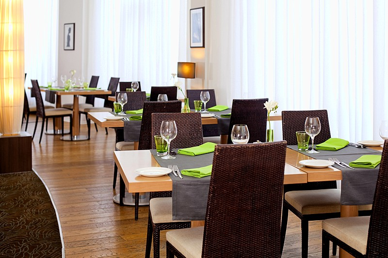 Cote Jardin Restaurant at the Novotel St. Petersburg Centre Hotel in St. Petersburg