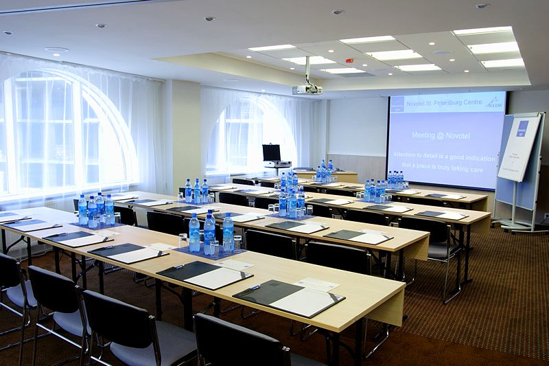 Madrid + Berlin Conference Hall at the Novotel St. Petersburg Centre Hotel in St. Petersburg