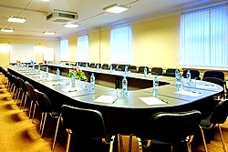 Small Conference Hall at the Oktiabrskaya Hotel in St. Petersburg