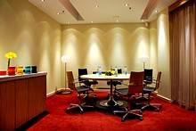 Meeting Room A at the Park Inn by Radisson Nevsky St. Petersburg Hotel in St. Petersburg
