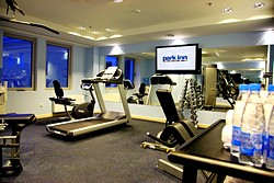 Gym at the Park Inn by the Radisson Nevsky St. Petersburg Hotel in St. Petersburg