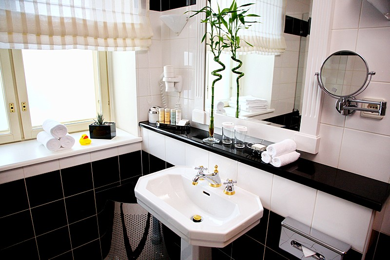 Bathroom of the Senior Suite at the Radisson Royal Hotel in St. Petersburg