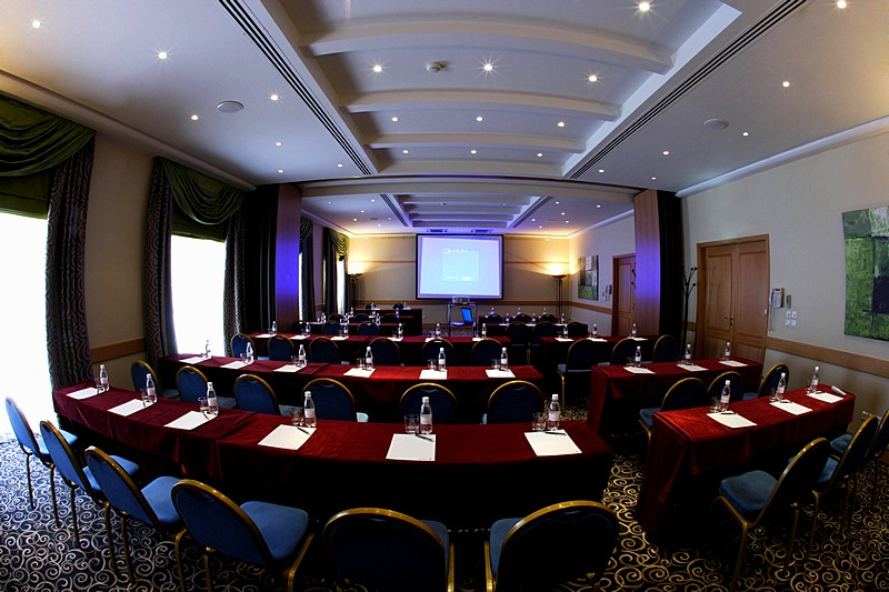 Ushakov Conference Hall at the Radisson Royal Hotel in St. Petersburg