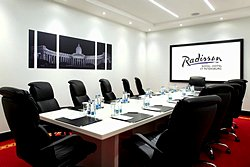 Surikov Meeting Room at the Radisson Royal Hotel in St. Petersburg
