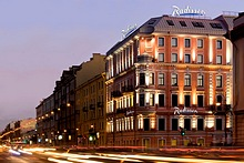 Radisson Sonya Hotel in St. Petersburg