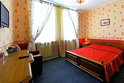 Double Room at the Regina Hotel in St. Petersburg