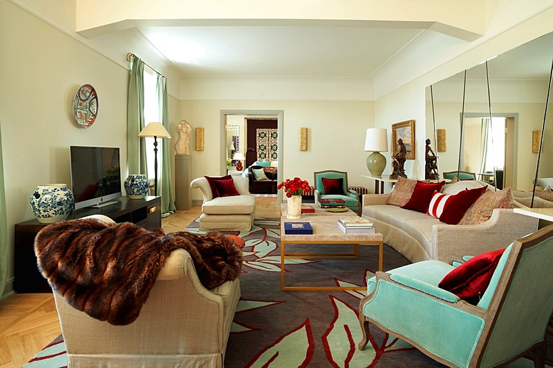 Tsar Suite at the Rocco Forte Hotel Astoria in St. Petersburg