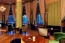 Rotonda Lounge at Rocco the Forte Hotel Astoria in St. Petersburg