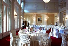 Ballroom at the Rocco Forte Hotel Astoria in St. Petersburg