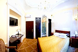 Deluxe Double Room at the Rossi Boutique Hotel in St. Petersburg