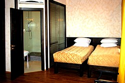 Standard Twin Room at the Rossi Boutique Hotel in St. Petersburg