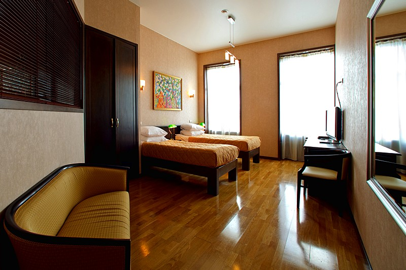 deluxe twin room at the rossi boutique hotel in st petersburg boutique hotel st petersburg