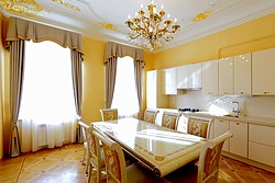 Presidential Suite at the Rossi Boutique Hotel in St. Petersburg