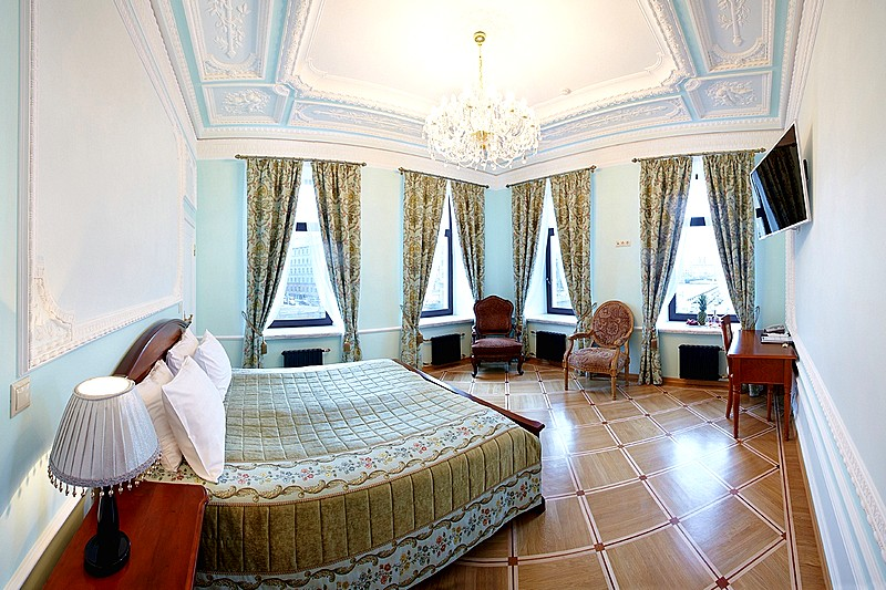 Executive Suite at the Rossi Boutique Hotel in St. Petersburg