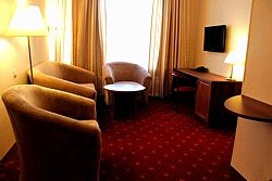 Double Business Comfort at the Rossiya Hotel in St. Petersburg