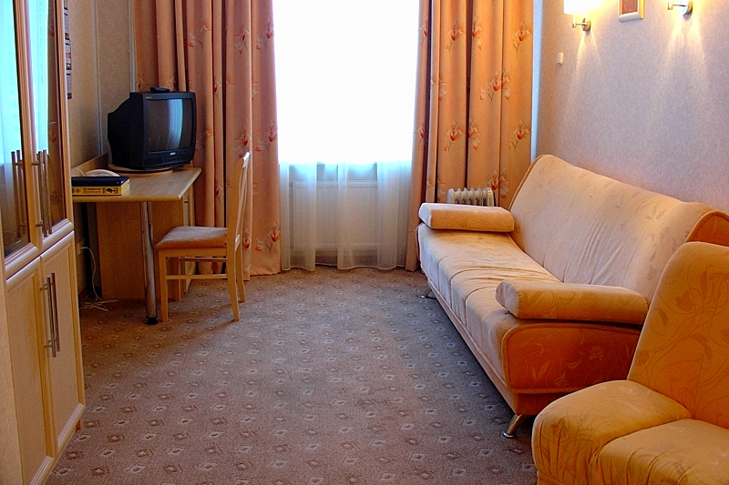 Junior Suite at the Rossiya Hotel in St. Petersburg
