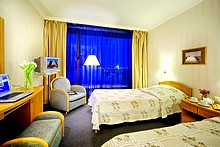 Standard Rooms with river views at the Saint Petersburg Hotel in St. Petersburg