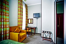 Superior Single Room at the Shelfort Hotel in St. Petersburg