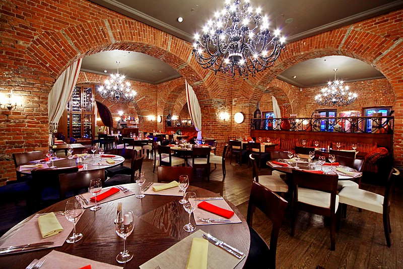 Sevilla Restaurant at the Solo Sokos Hotel Palace Bridge in St. Petersburg