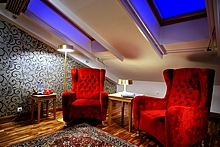Superior Mansard Room at the Solo Sokos Hotel Vasilievsky in St. Petersburg