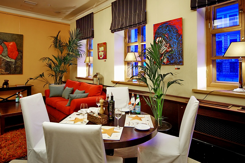 Repin Lounge at the Solo Sokos Hotel Vasilievsky in St. Petersburg