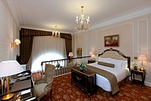 Suite at the Official State Hermitage Museum Hotel in St. Petersburg