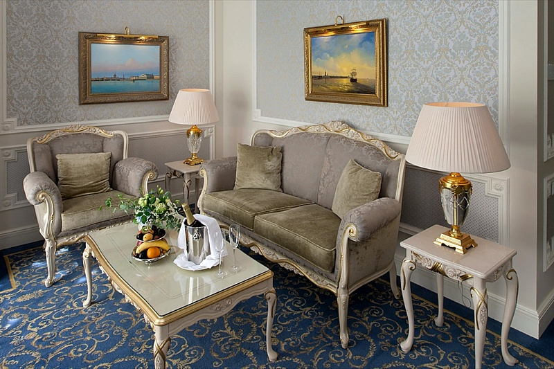 Hermitage Suite at the Official State Hermitage Museum Hotel in St. Petersburg