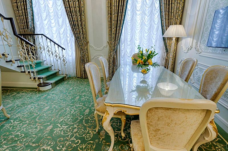 Imperial Suite at the Official State Hermitage Museum Hotel in St. Petersburg