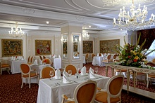 Catherine the Great Restaurant at the Official State Hermitage Museum Hotel in St. Petersburg