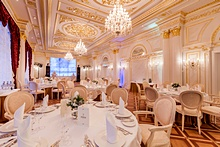 Rossi Ballroom at the Official State Hermitage Museum Hotel in St. Petersburg