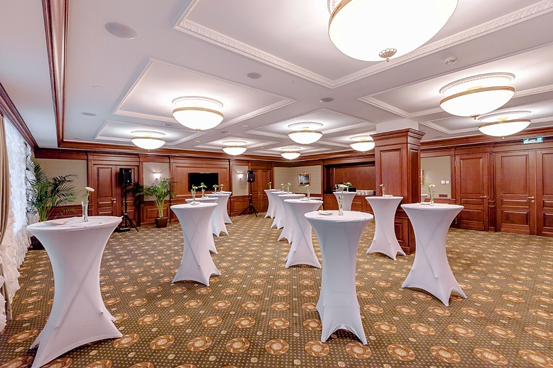 Stasov conference hall at the Official State Hermitage Museum Hotel in St. Petersburg