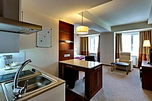 Studio at the Staybridge Suites St. Petersburg Hotel