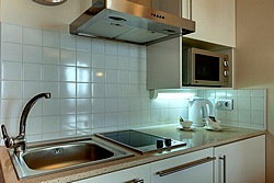 Classic Studio Kitchen at the Staybridge Suites St. Petersburg Hotel
