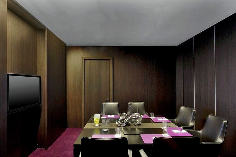 Strategy boardroom at the W St. Petersburg Hotel in St. Petersburg