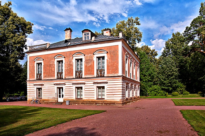 Palace of Peter III in Oranienbaum, west of St Petersburg, Russia