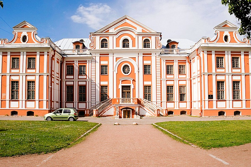 Kikin Hall – one of the earliest surviving Apartment Buildings in St Petersburg, Russia