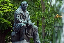 Monument to Ivan Krylov in the Summer Garden, St. Petersburg, Russia
