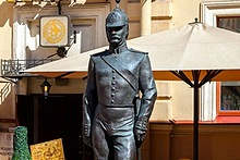 Monument to the St. Petersburg Policeman, St. Petersburg, Russia