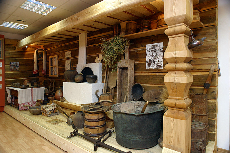 Beer Museum at Stepan Razin Brewery in Saint-Petersburg, Russia