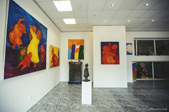 DiDi Art Gallery in St Petersburg, Russia